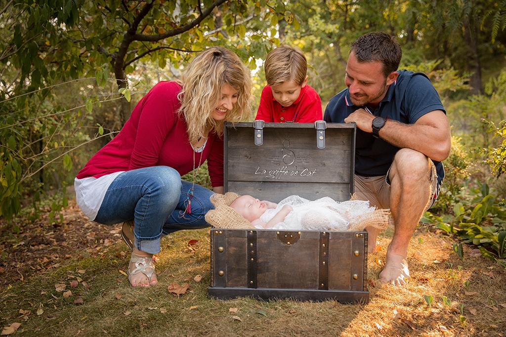 La griffe de Cat shooting famille enfant bébé