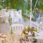 Mariage déco table Mas St Joseph Grasse