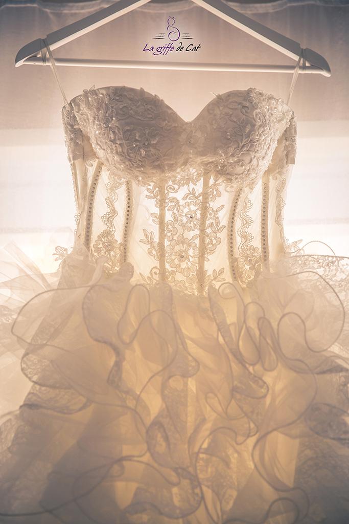 Mariage preparatifs robe