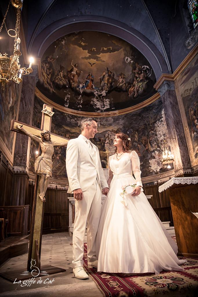 mariés eglise Flassans sur Issole