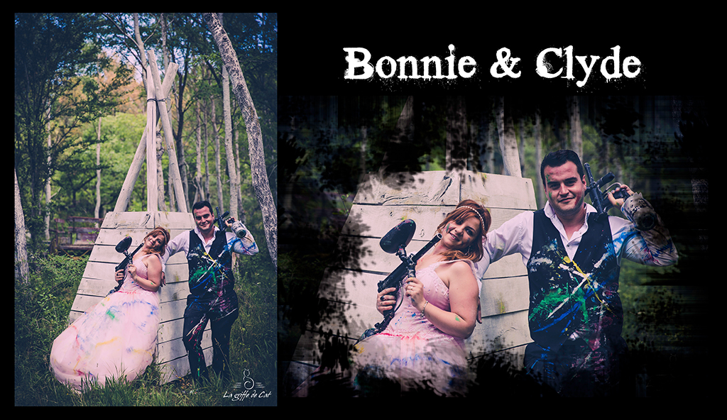 Bonnie & Clyde Trash the dress
