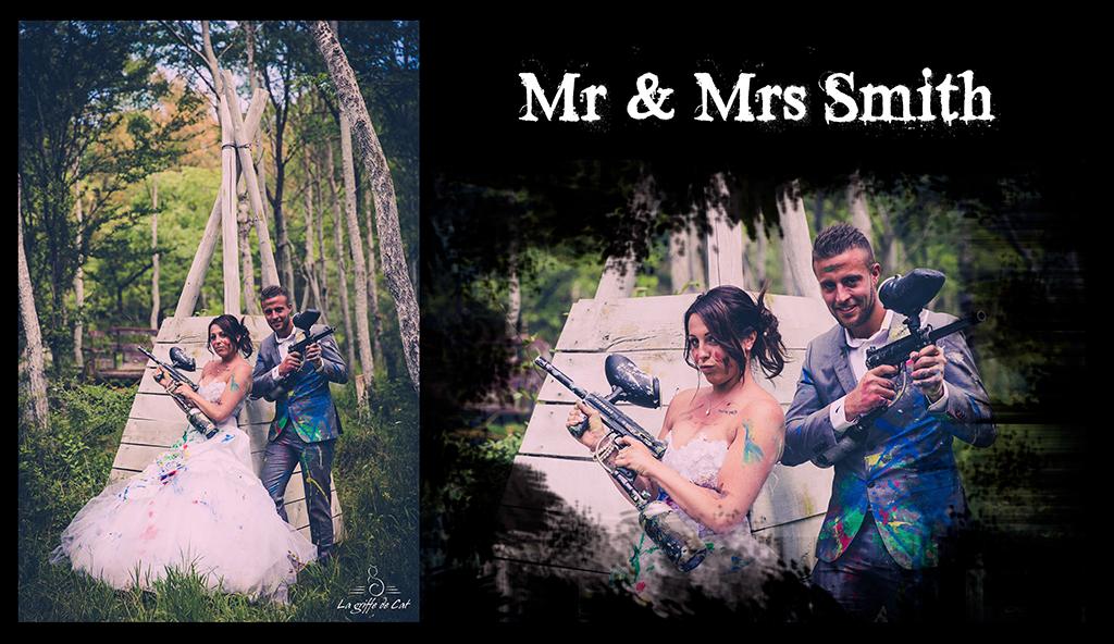 Mr & Mrs Smith Trash the dress