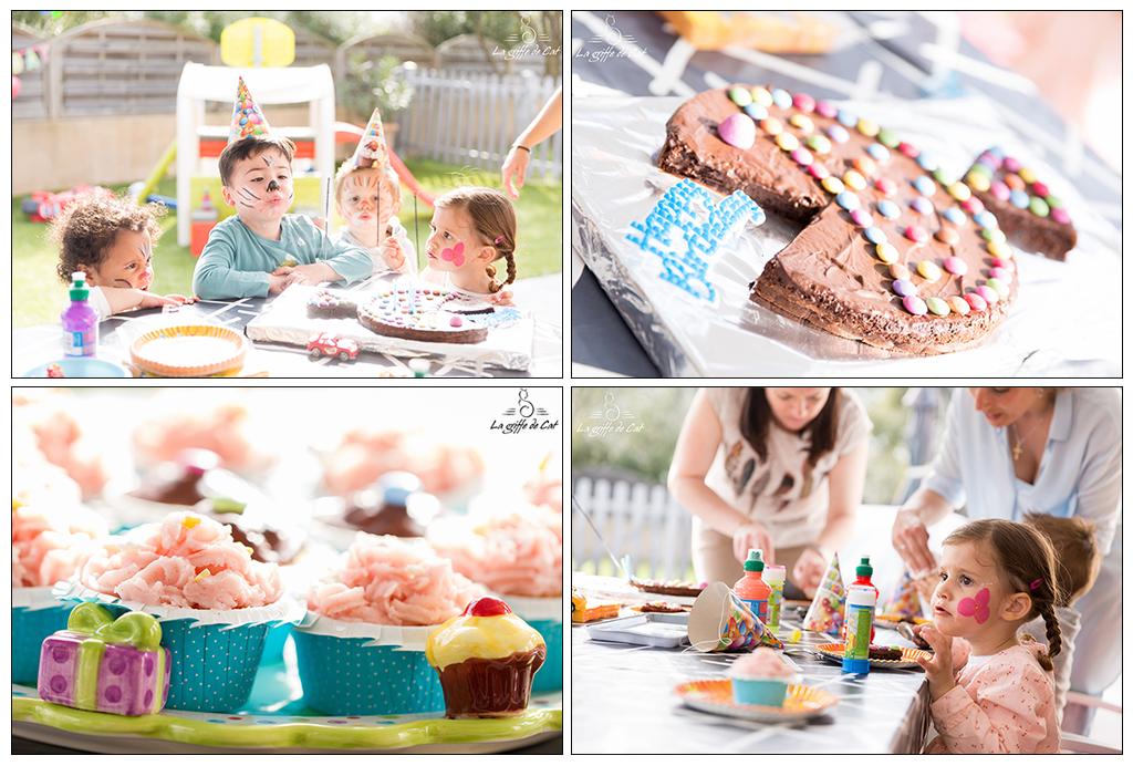 Reportage photo anniversaire gâteau Var La griffe de Cat