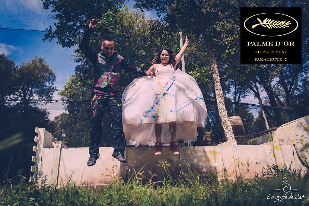 palme d'or du plus beau parachute trash the dress collectif